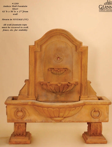 Anduze Wall Fountain Short