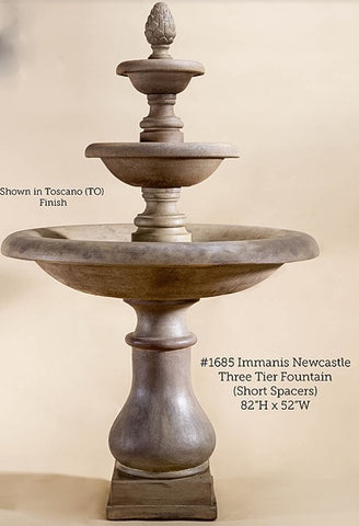 Immanis Newcastle Three Tier Fountain