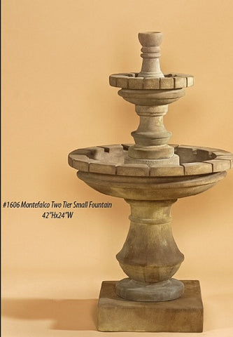 Montefalco Two Tier Small Fountain