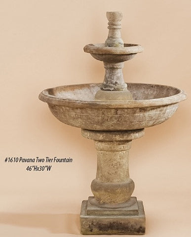 Pavana Two Tier Fountain