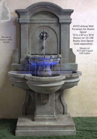 Arbois Wall Fountain