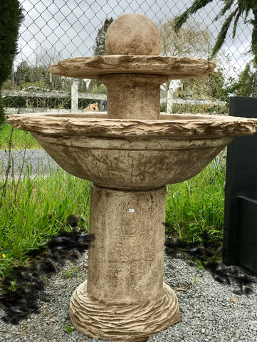 Two Tier Slate Fountain