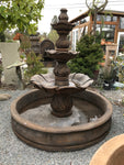 Saratoga Pool Fountain