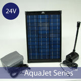 24v Solar Fountain & Small Pond Pump