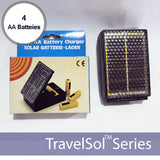 TravelSol 2AA Battery Charger