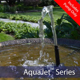 Solar Fountain Submersible Pump – AquaJet Pro 6-9V