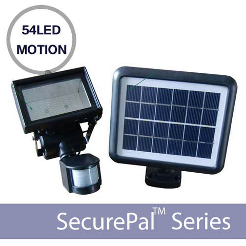 54LED Motion Sensor Solar Security Light