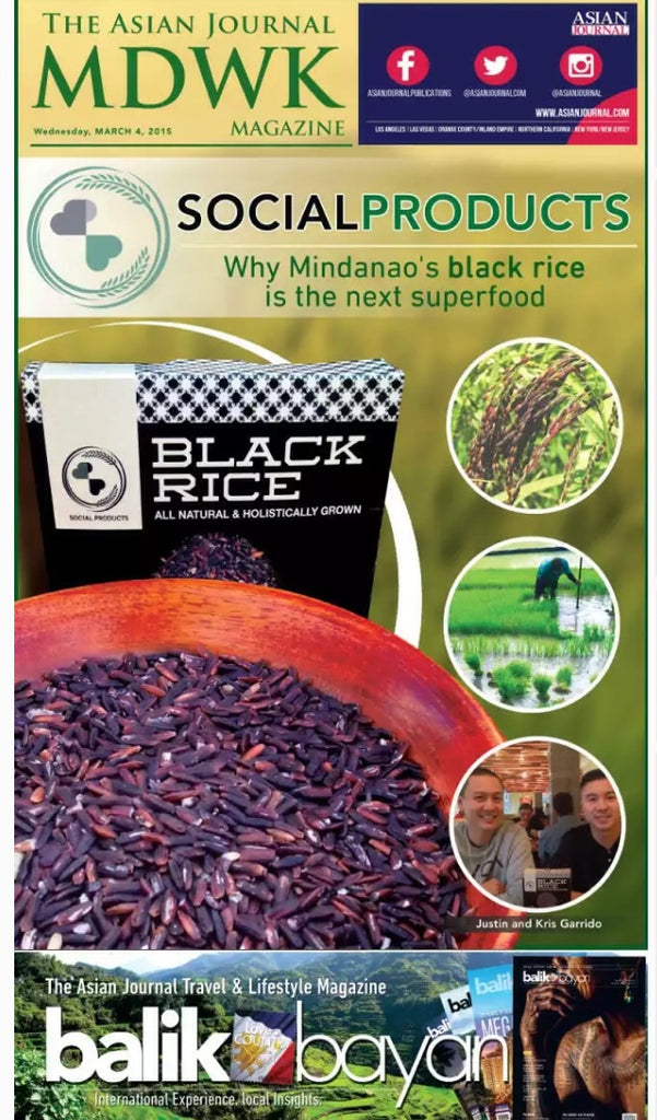 The Asian Journal: Why Mindanao's Black Rice is the Next Superfood