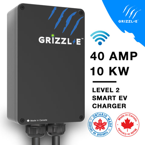 GRIZZL-E INTELLIGENTE (SMART) NEMA 14-50-Fabriquée au Canada