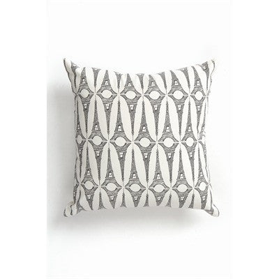 Natural and Grey Print Cushion