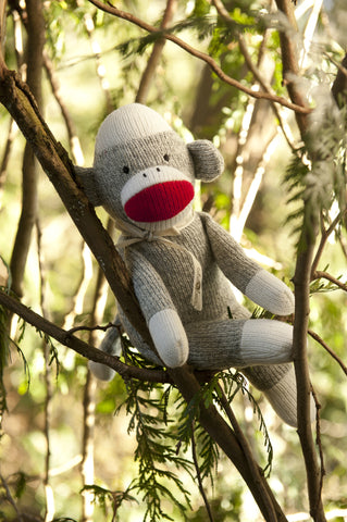 Sock Monkey Rattle