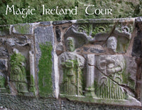 Tour of Ireland's Ancient East, Magic Ireland, Rock of Cashel, Tipperary, stone carvings
