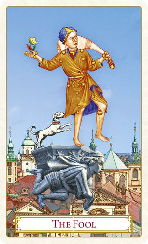 The Tarot of Prague. Limited edition LARGE FORMAT. Temporarily unavailable. - Baba Store - 4