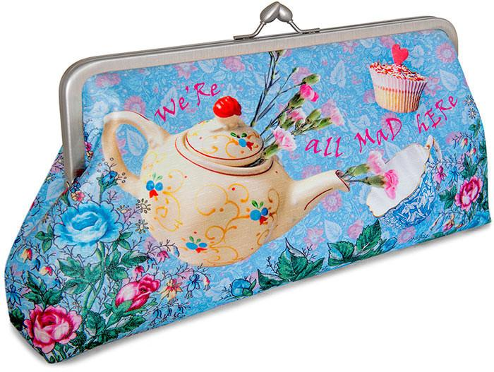 The Tea Party, soft blue, 10 inch size in dupion - Baba Store EU - 2