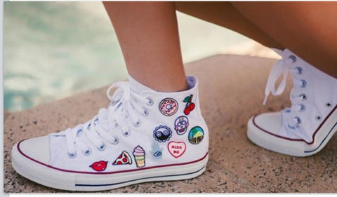 converse and patches