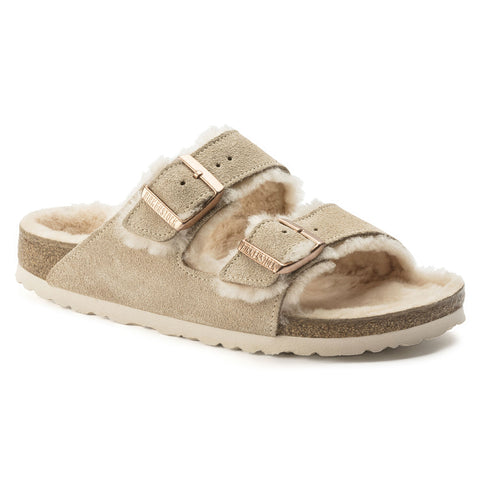 Women's Birkenstock Arizona Suede Fur