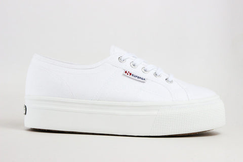 Women's Superga Platform Cotton - Sneakerology