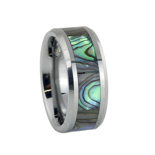 camo tungsten wedding bands