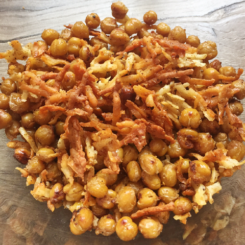 asiago-goat-cheese-roasted-chickpeas