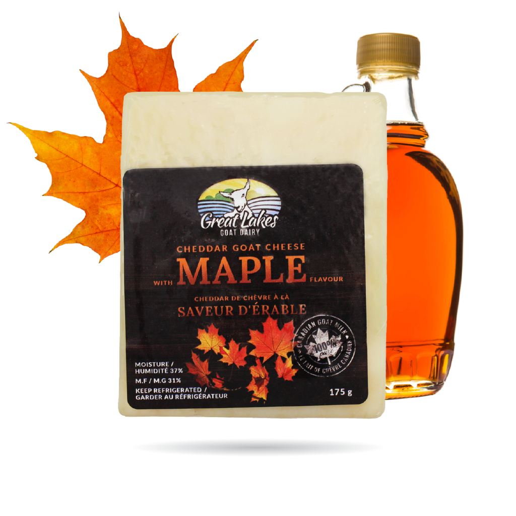 Maple Cheddar Goat Cheese