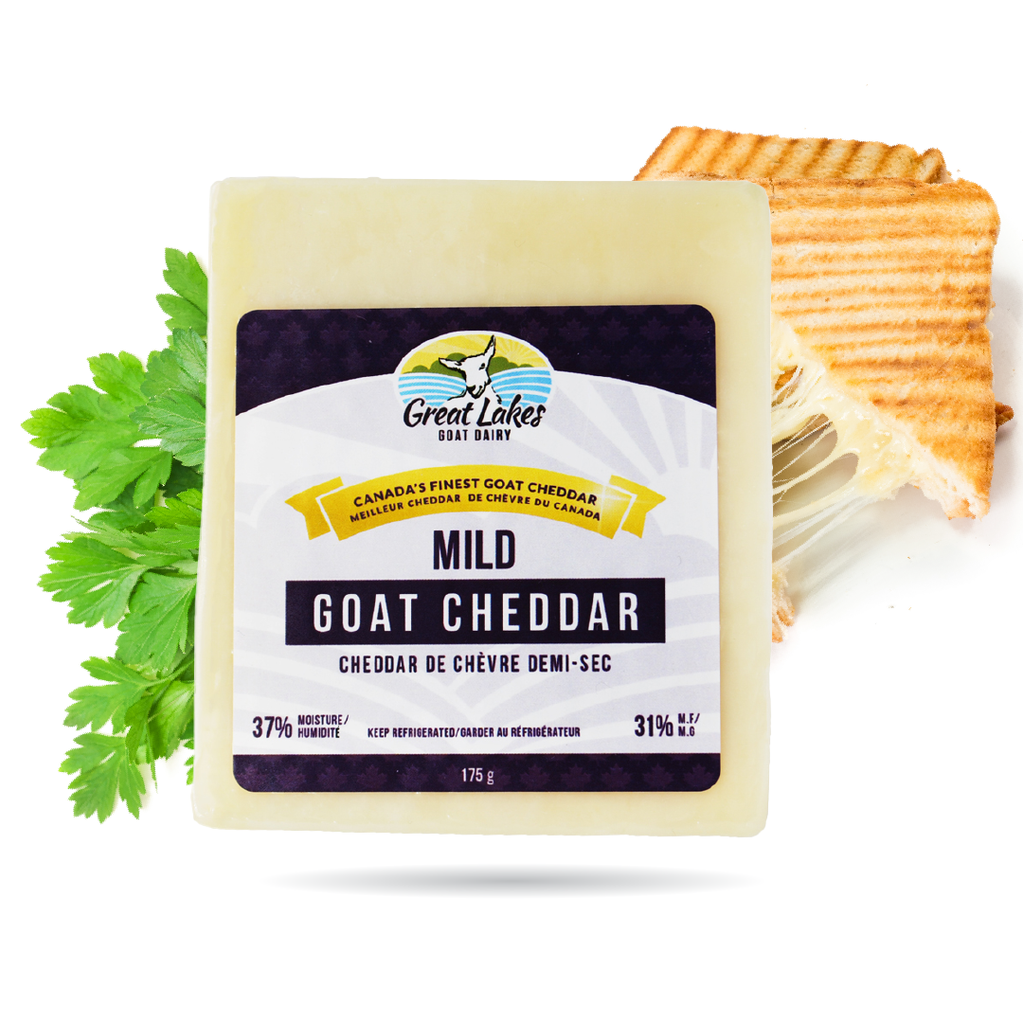 Mild Cheddar Goat Cheese