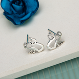 Sterling silver angel stud – Ag Sterling