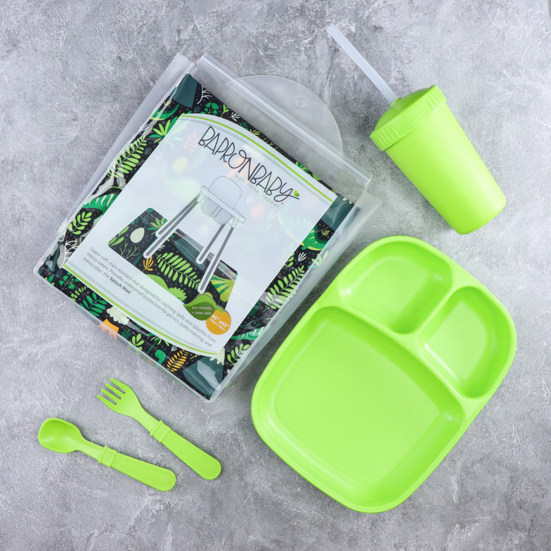 BapronBaby Splash Mat w/ FREE Lunch Set