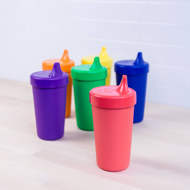 No-Spill Sippy Cup Set