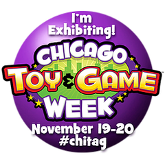 I'm exhibiting at Chicago Toy & Game Fair!