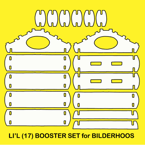 17-Pc LI'L BOOSTER Play Set (CLOSEOUT - VERY FEW AVAILABLE)