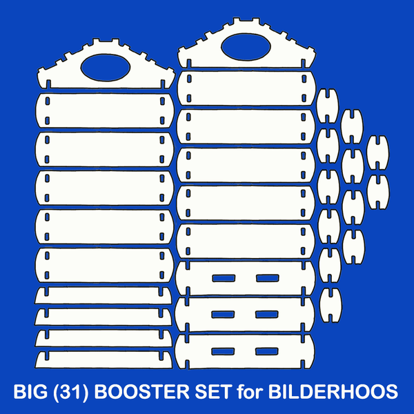 31-Pc BIG BOOSTER Play Set (CLOSEOUT - VERY FEW AVAILABLE)