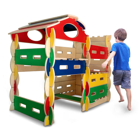 58+ Pc Architectural Building Play Set: Close-out