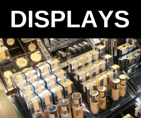 zDisplay Modules:  Bestseller Display (Includes Tester plus Retail) - Customizable