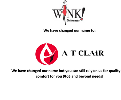 We've changed our name to AT CLAiR!