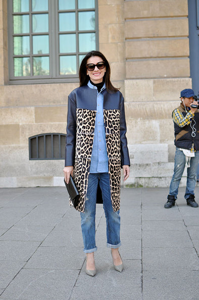 Fashion Inspiration from Miroslava Duma - How to Wear Animal Print