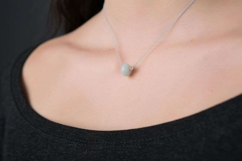 Amazonite Necklace - Lessens Stress