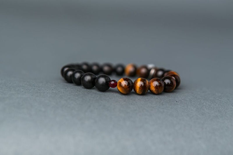 Tigers Eye Stone Stack - Power & Protection