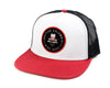 Hat-Red & White Circle Logo