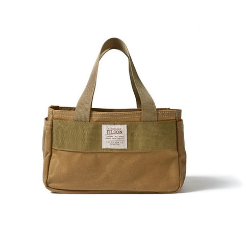 Filson Dark Tan Shell Bag