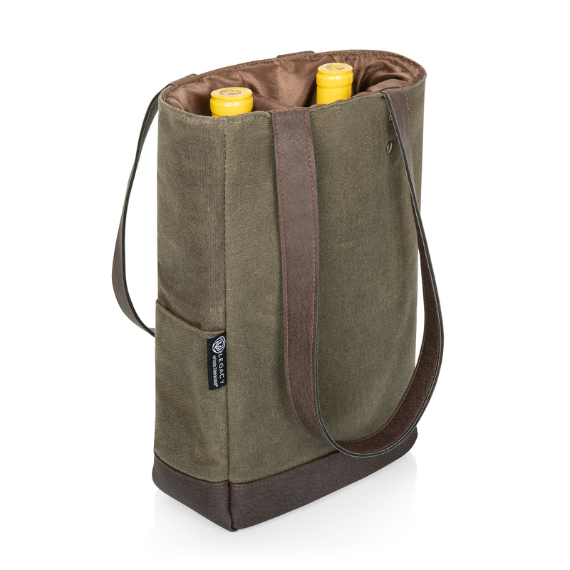 Waxed Canvas Insulated Wine Cooler