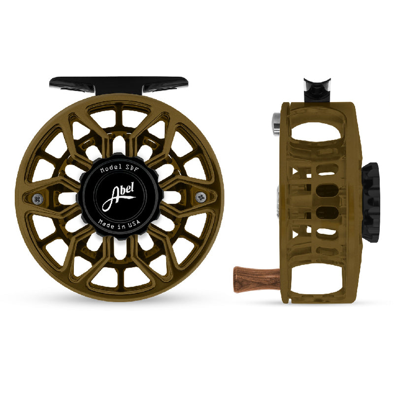 Abel SDF 4/5 Reel (Satin Dark Olive)