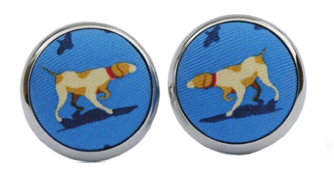 Bird Dog Bay Pointer Cufflinks