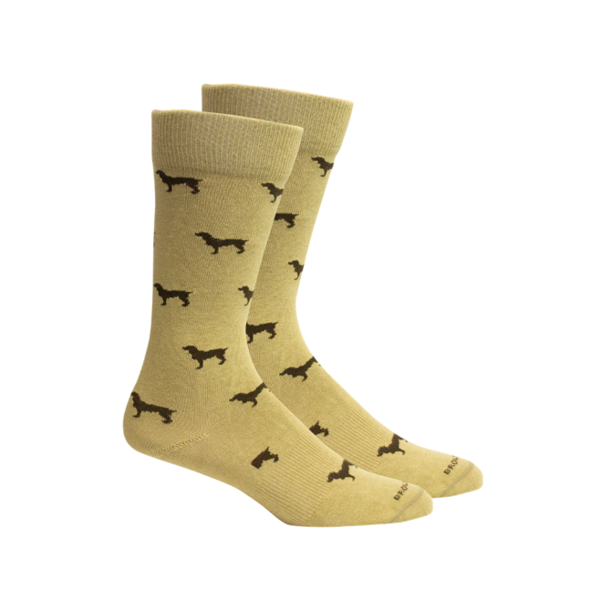 Brown Dog Hosiery Beau Socks
