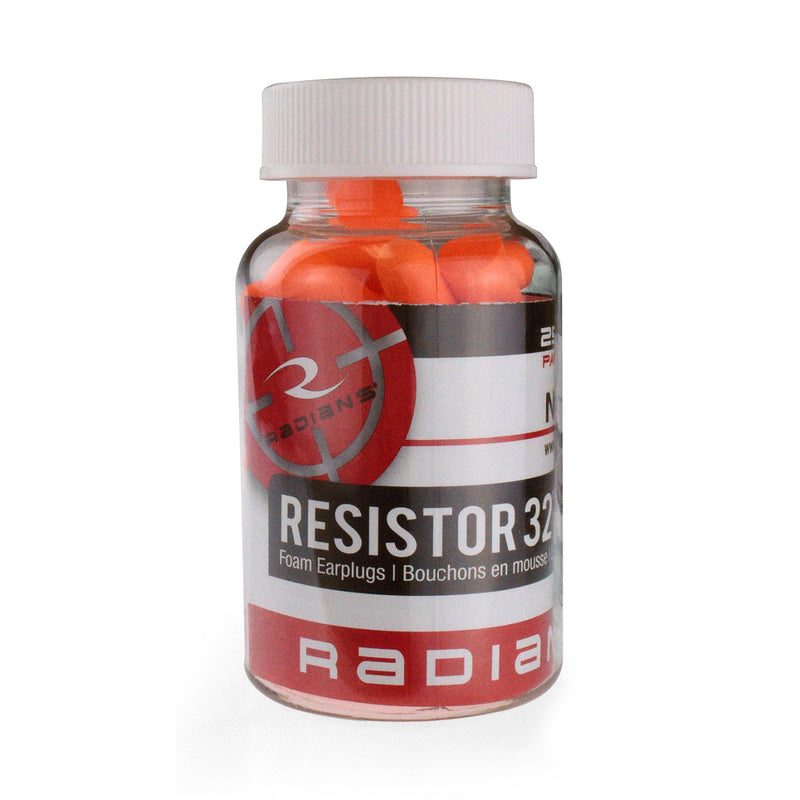 Radians Foam Earplugs