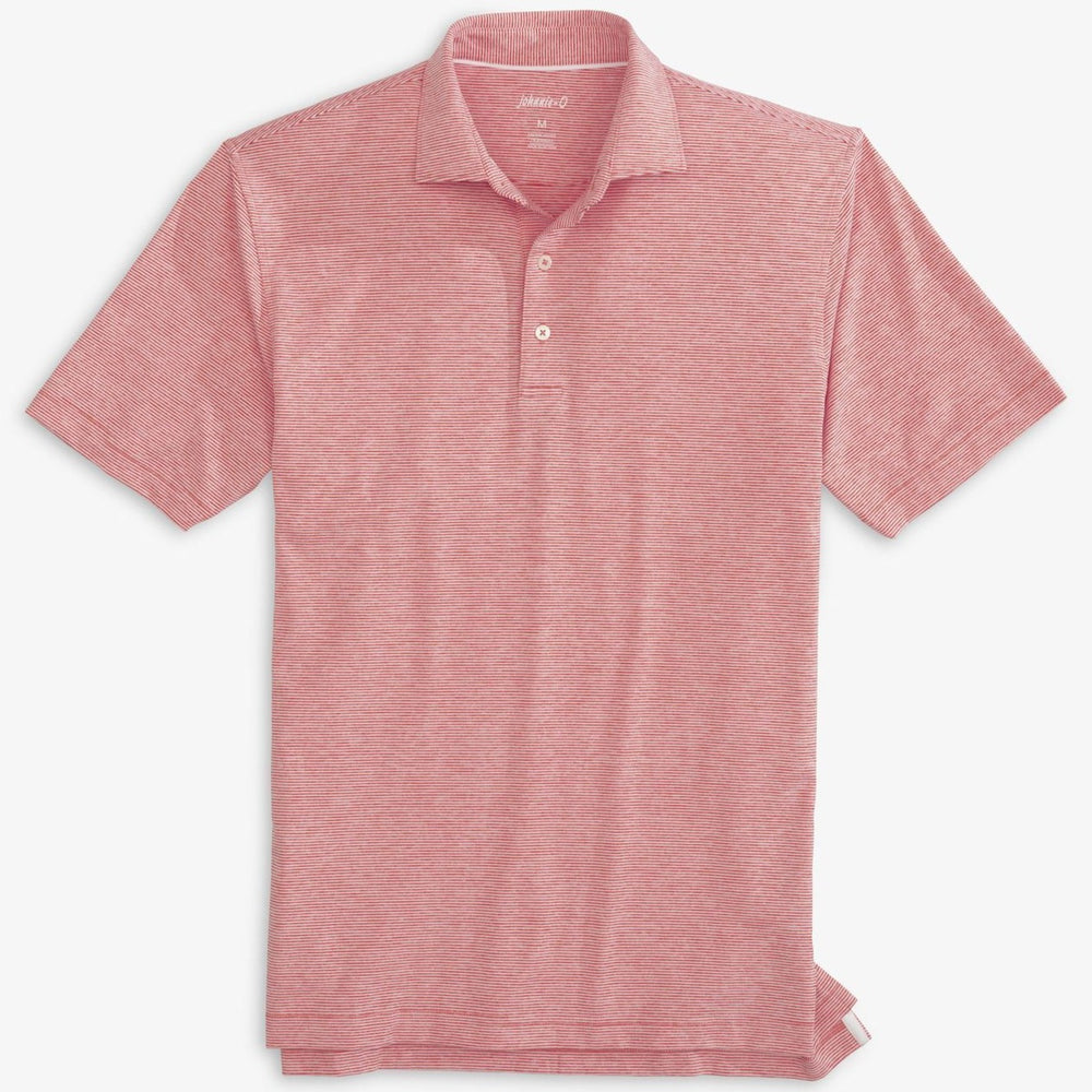 johnnie-O Lyndon Striped Jersey Polo
