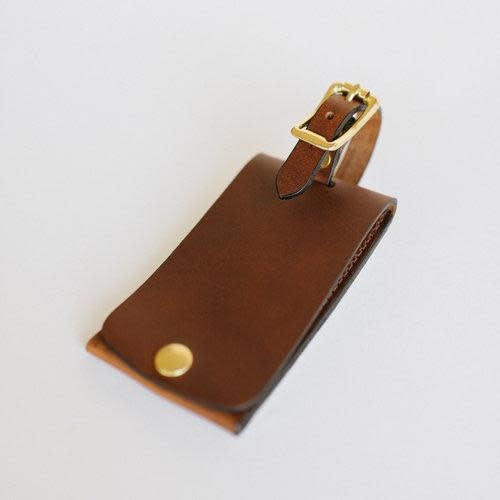 Clayton & Crume Antique Saddle Luggage Tag