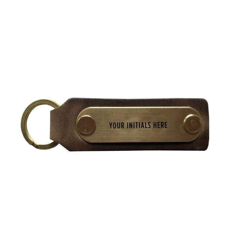 Custom Leather Key Fob