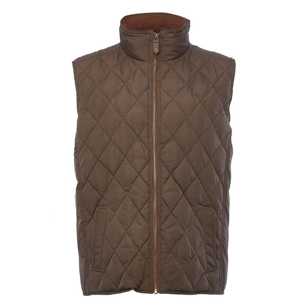 Dubarry Davis Quilted Down Vest