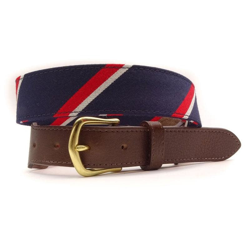 FH Wadsworth Leather Belt - Jefferson