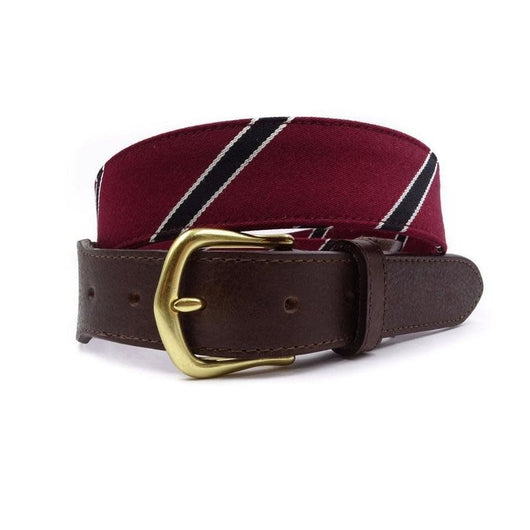 FH Wadsworth Leather Belt - Quaker